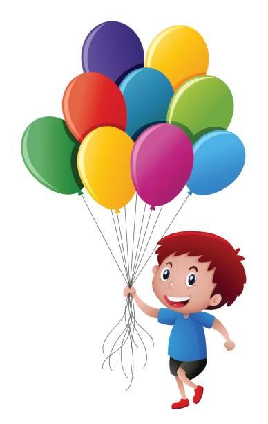 388x612 Little Boy Clipart Balloon Clipart