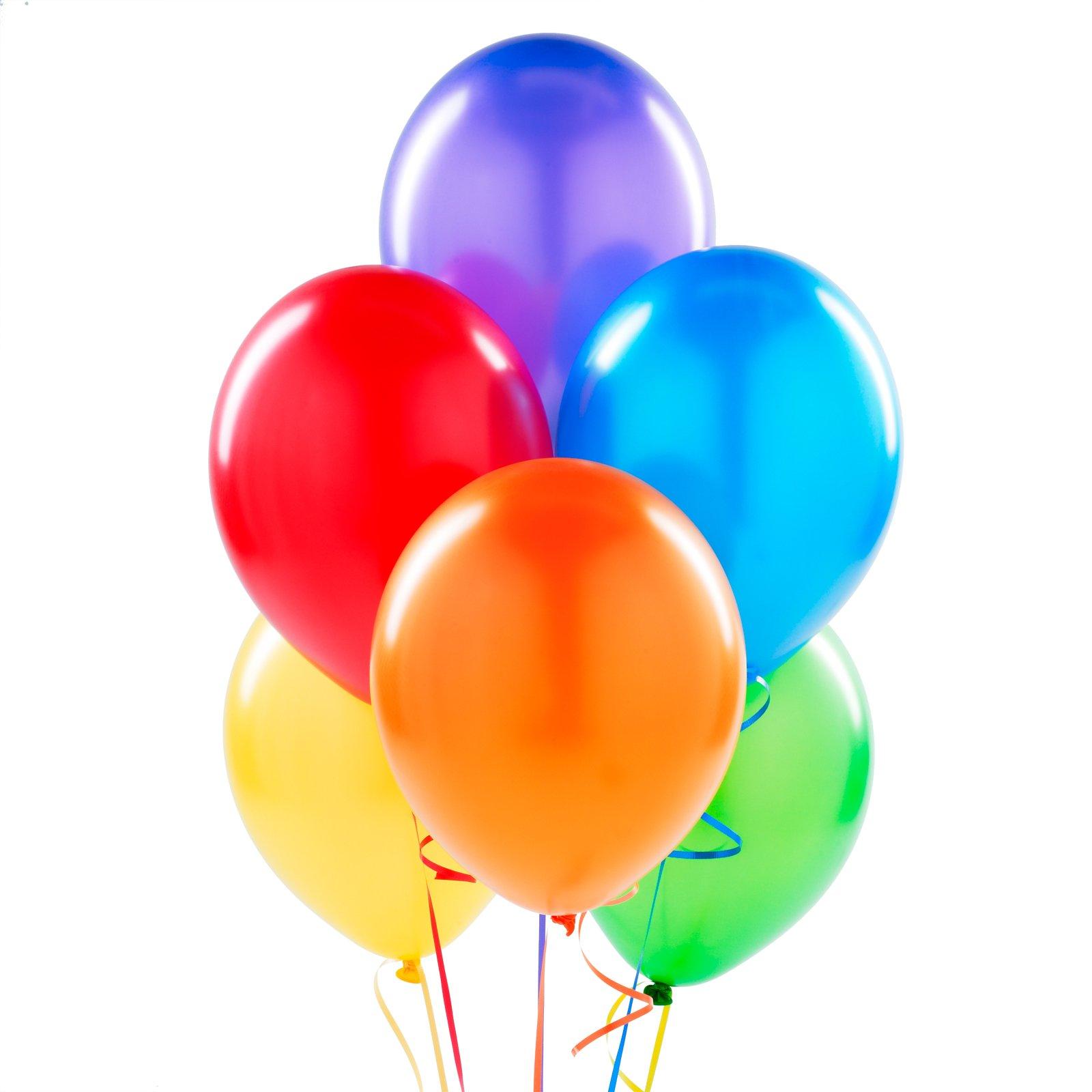 1600x1600 Balloon Clipart Rainbow