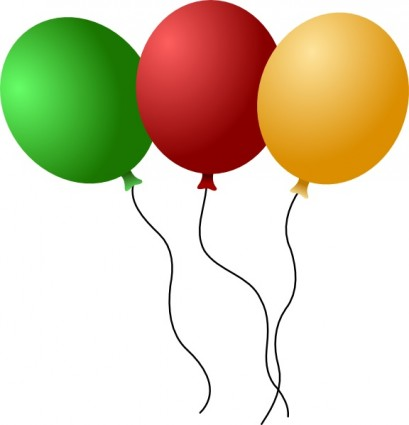 409x425 Balloons Clip Art Download