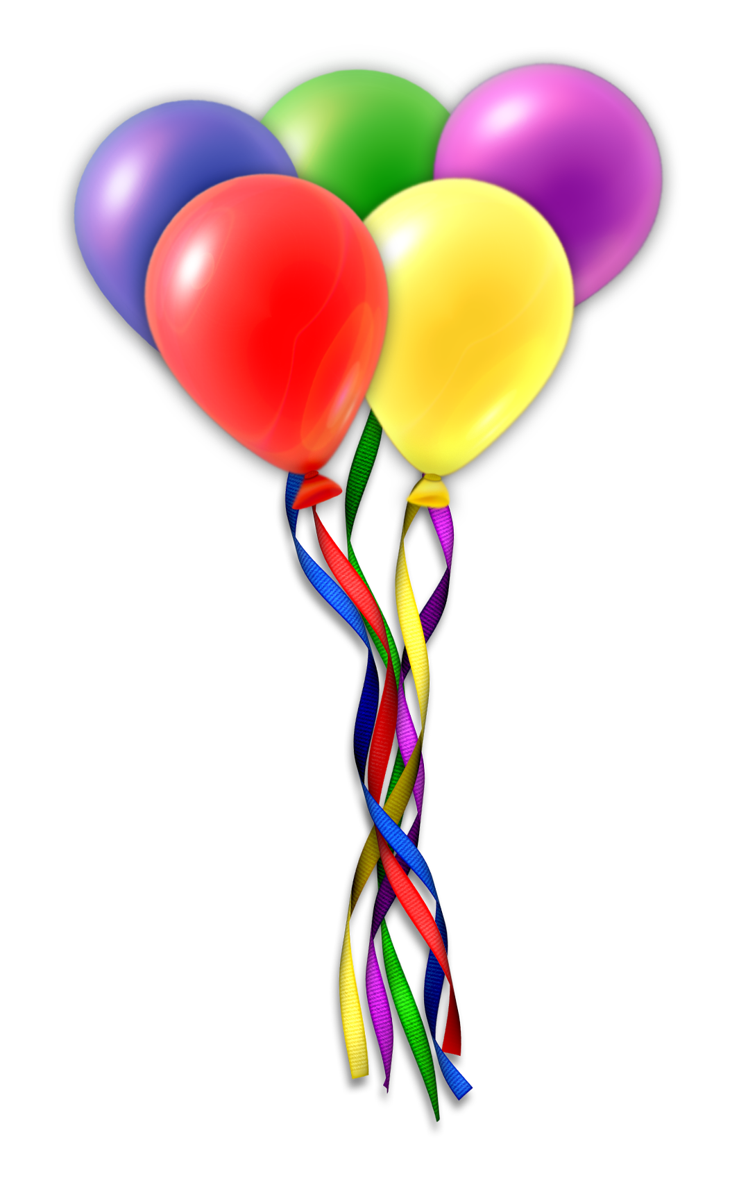 1065x1704 Balloons Transparent Background Png Mart