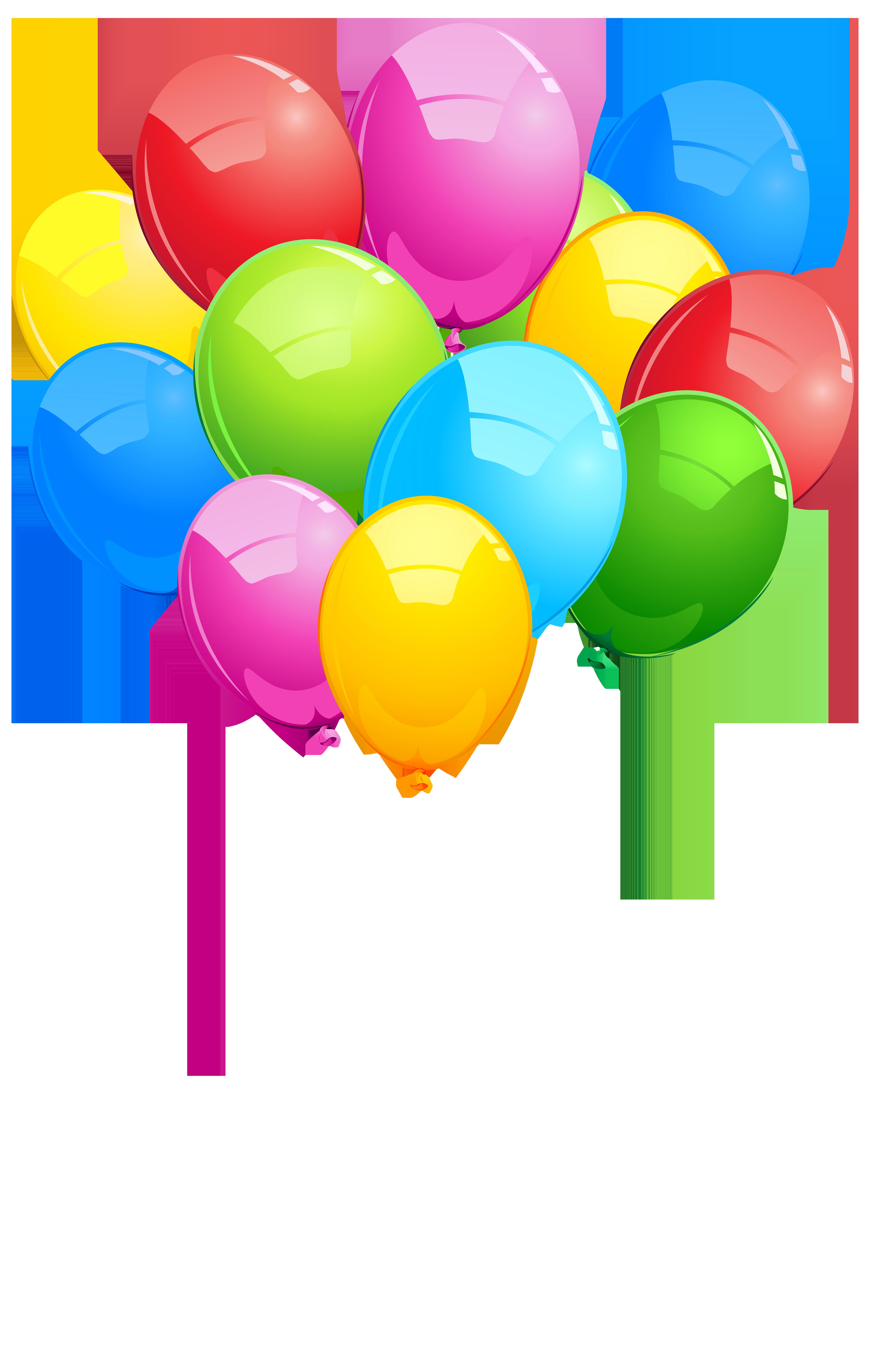 5070x8000 Bunch Balloons Png Transparent Clip Art Imageu200b Gallery