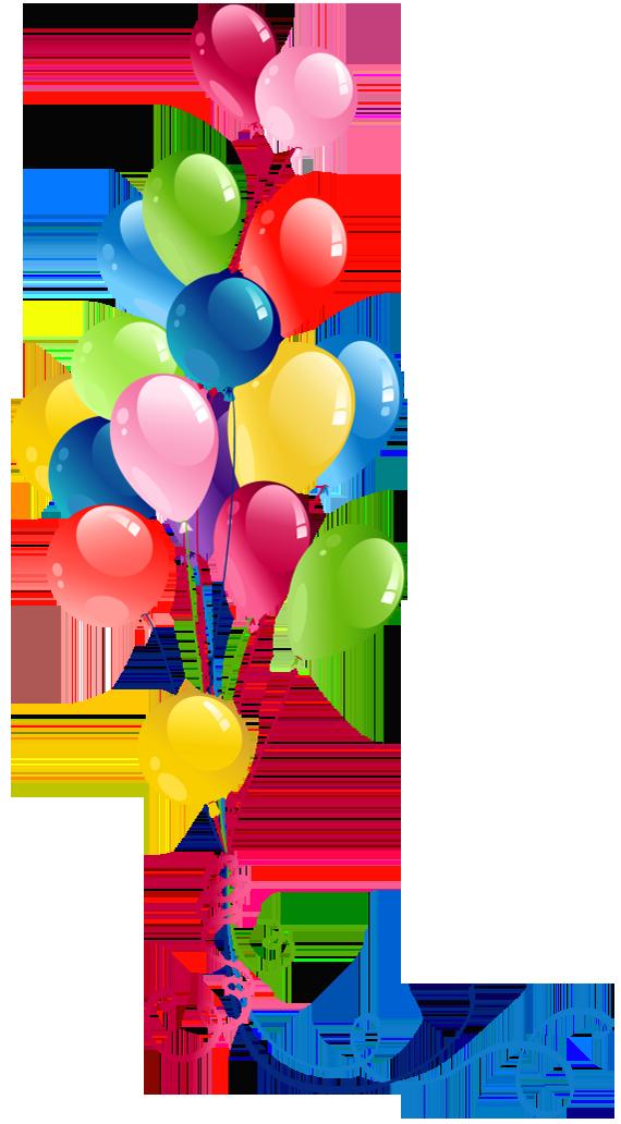 570x1032 Balloon Clipart Balloon Bunch
