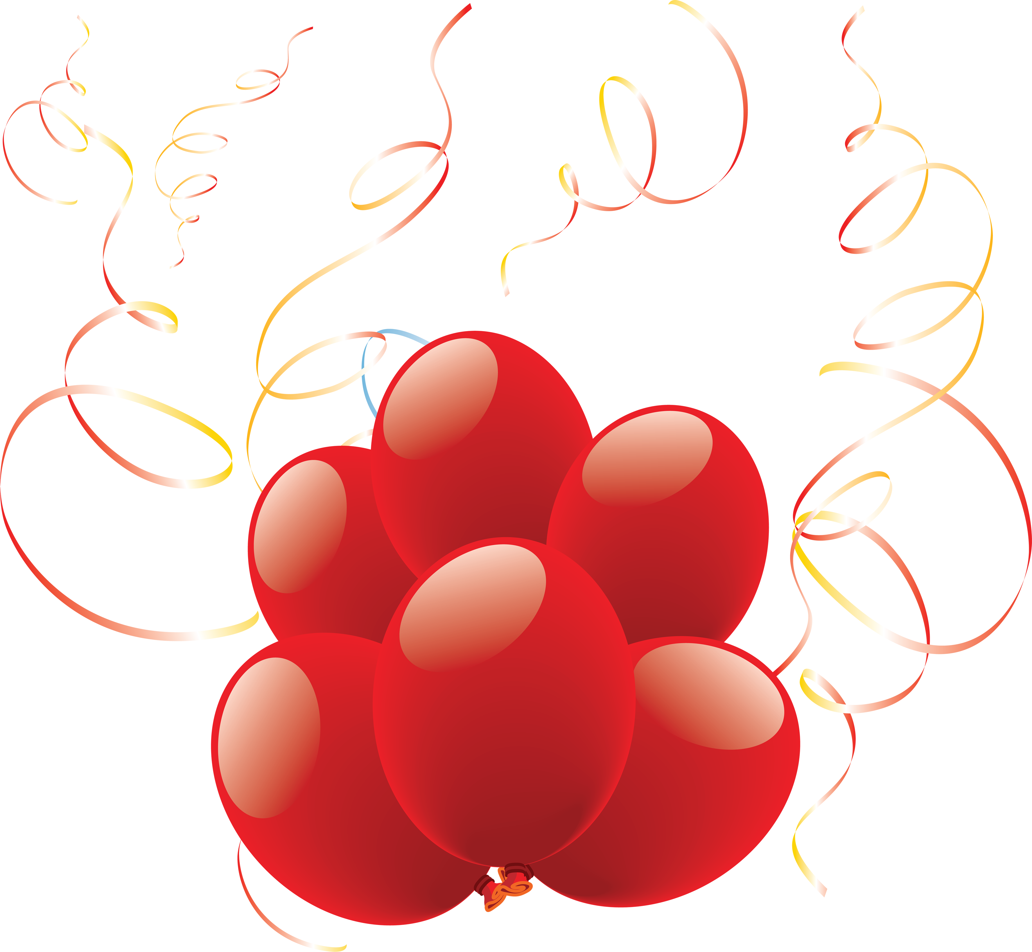 3553x3278 Balloons Thirty Two Isolated Stock Photo By