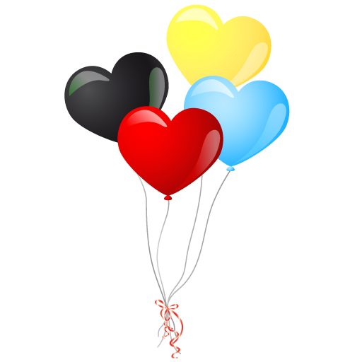 512x512 Balloons Twenty Two Isolated Stock Photo By