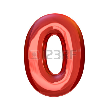450x450 Red Numbers Made Of Inflatable Balloons Isolated On Transparent