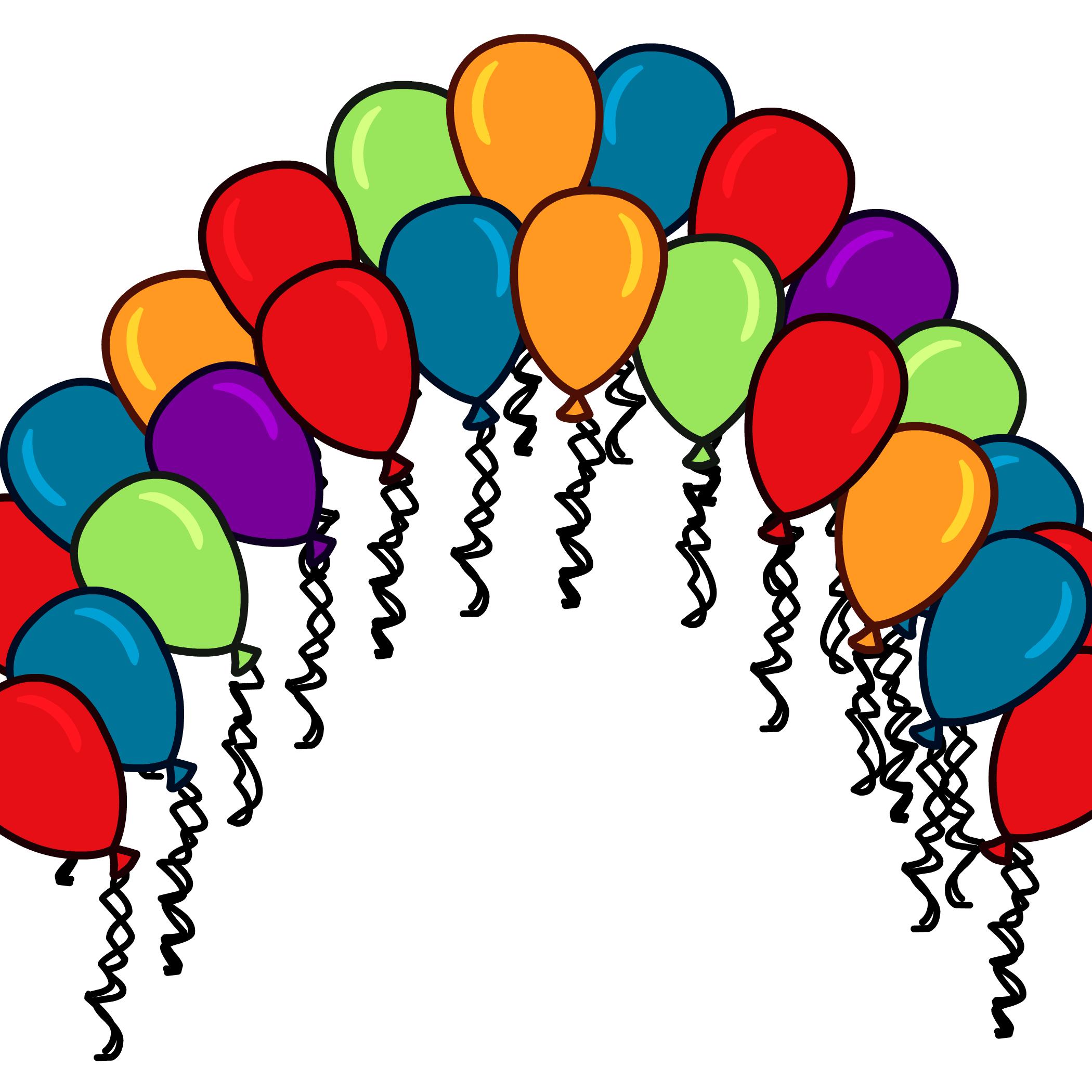 2100x2100 Balloon Arch Background Club Penguin Wiki Fandom Powered By Wikia