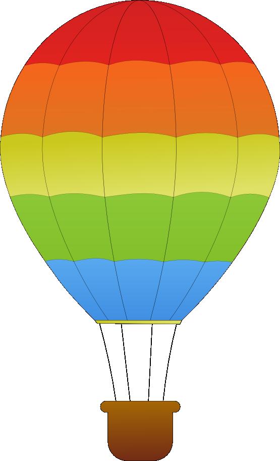 555x913 Balloon Silhouette 5 Clipart