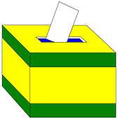 168x170 Ballot Box Clip Art