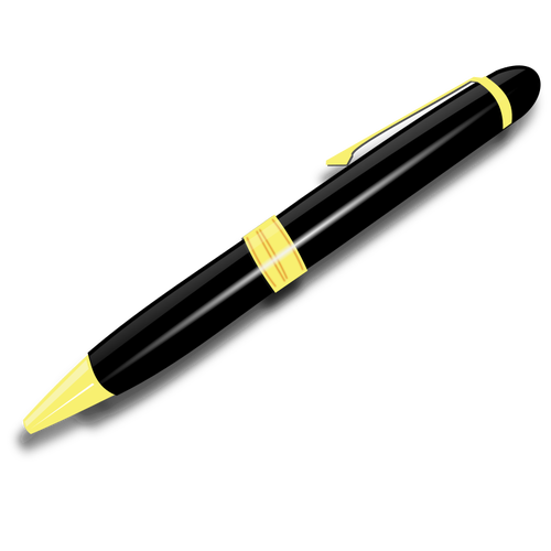 500x500 Pen Vector Clip Art 2 Public Domain Vectors