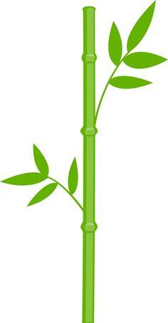 236x452 Bamboo Clipart Single