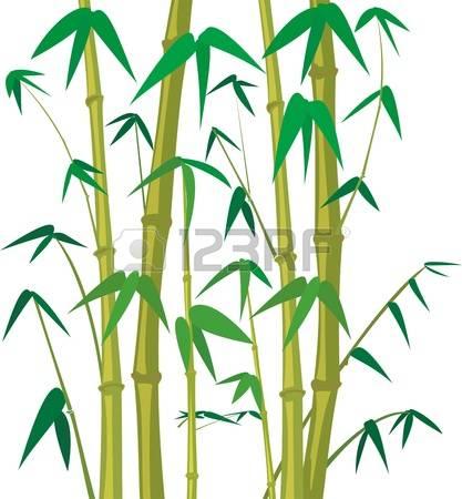 417x450 Stem Clipart Bamboo Tree