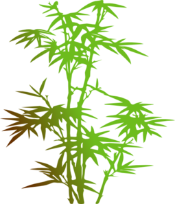 255x297 Bamboo Clip Art