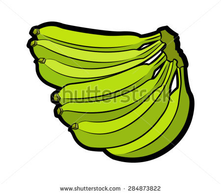 450x396 Banana clipart green banana