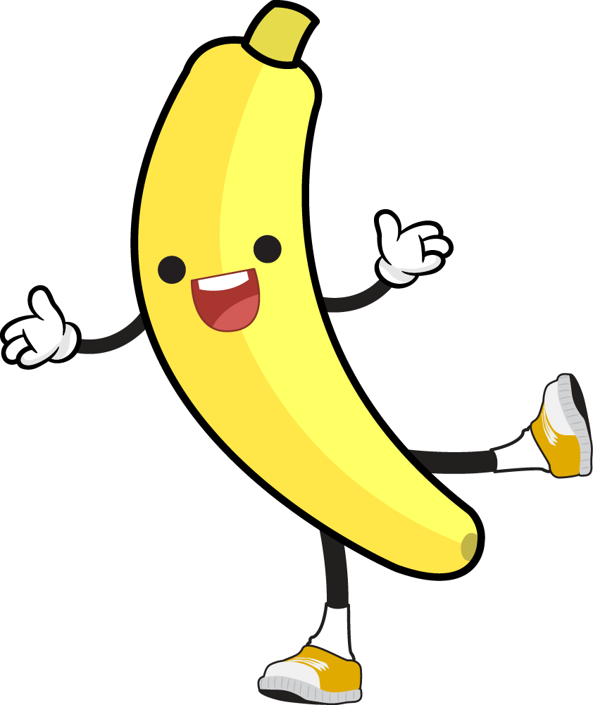 842x1001 Banana free to use clipart 2