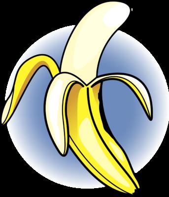 343x400 Image Banana Food Clip Art