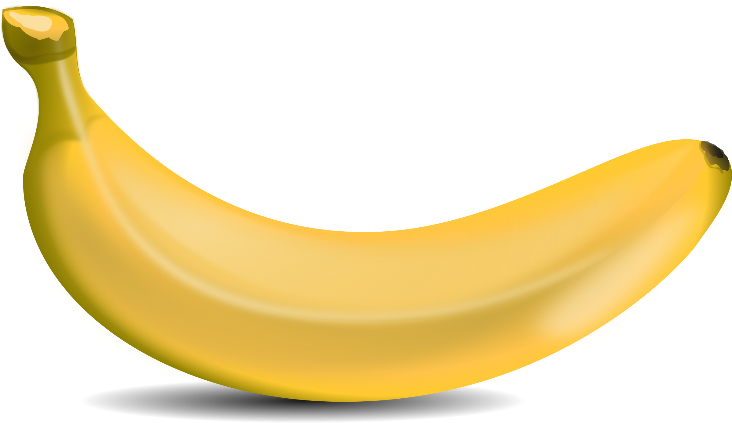 2400x1388 Banana Clip Art Free Png Png Mart