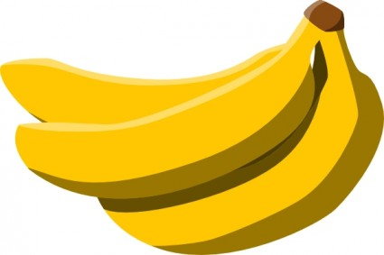 Banana Outline Clipart