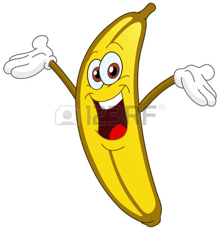 Banana Pictures Cartoon