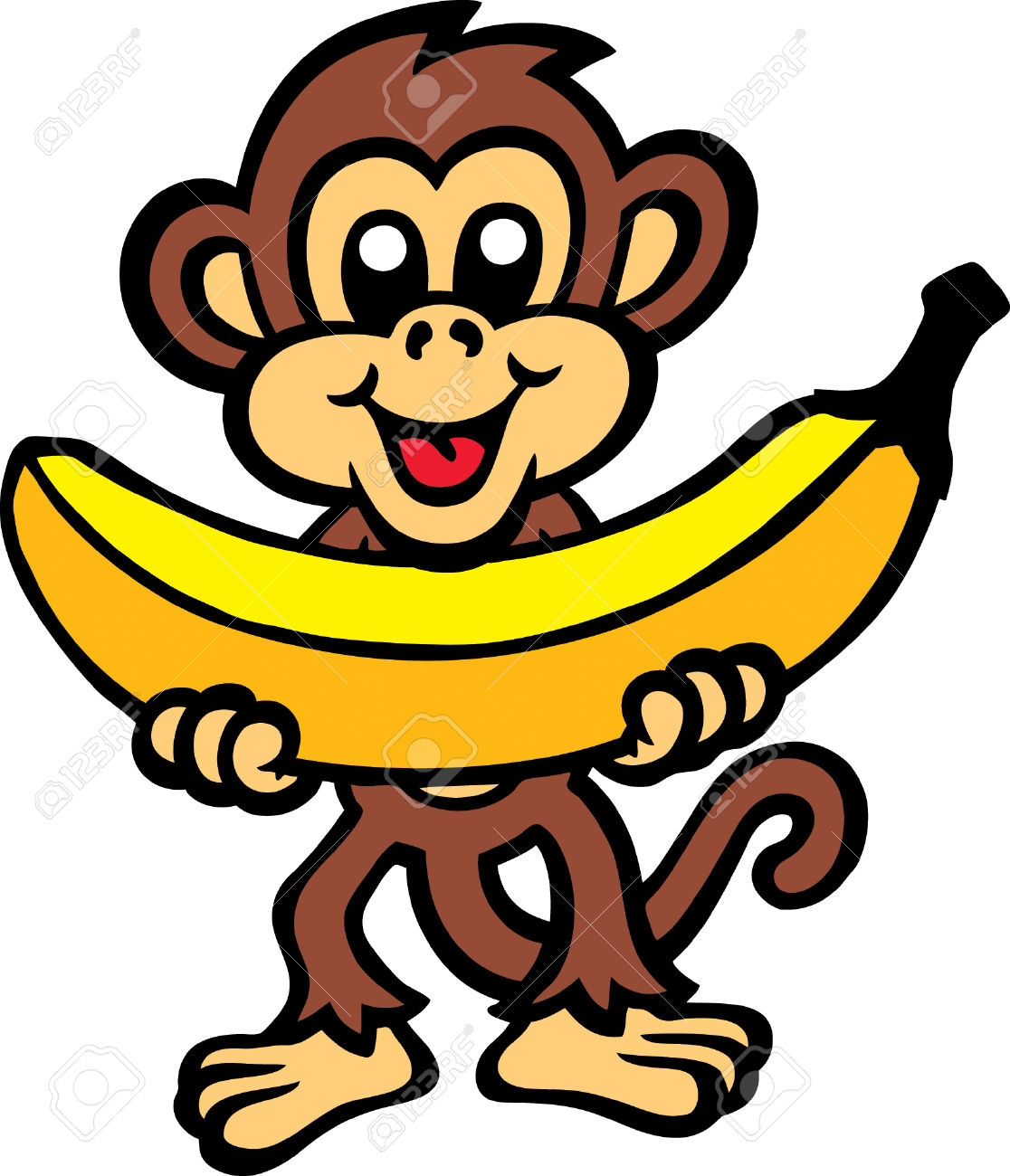 Banana Pictures Cartoon   Free download on ClipArtMag