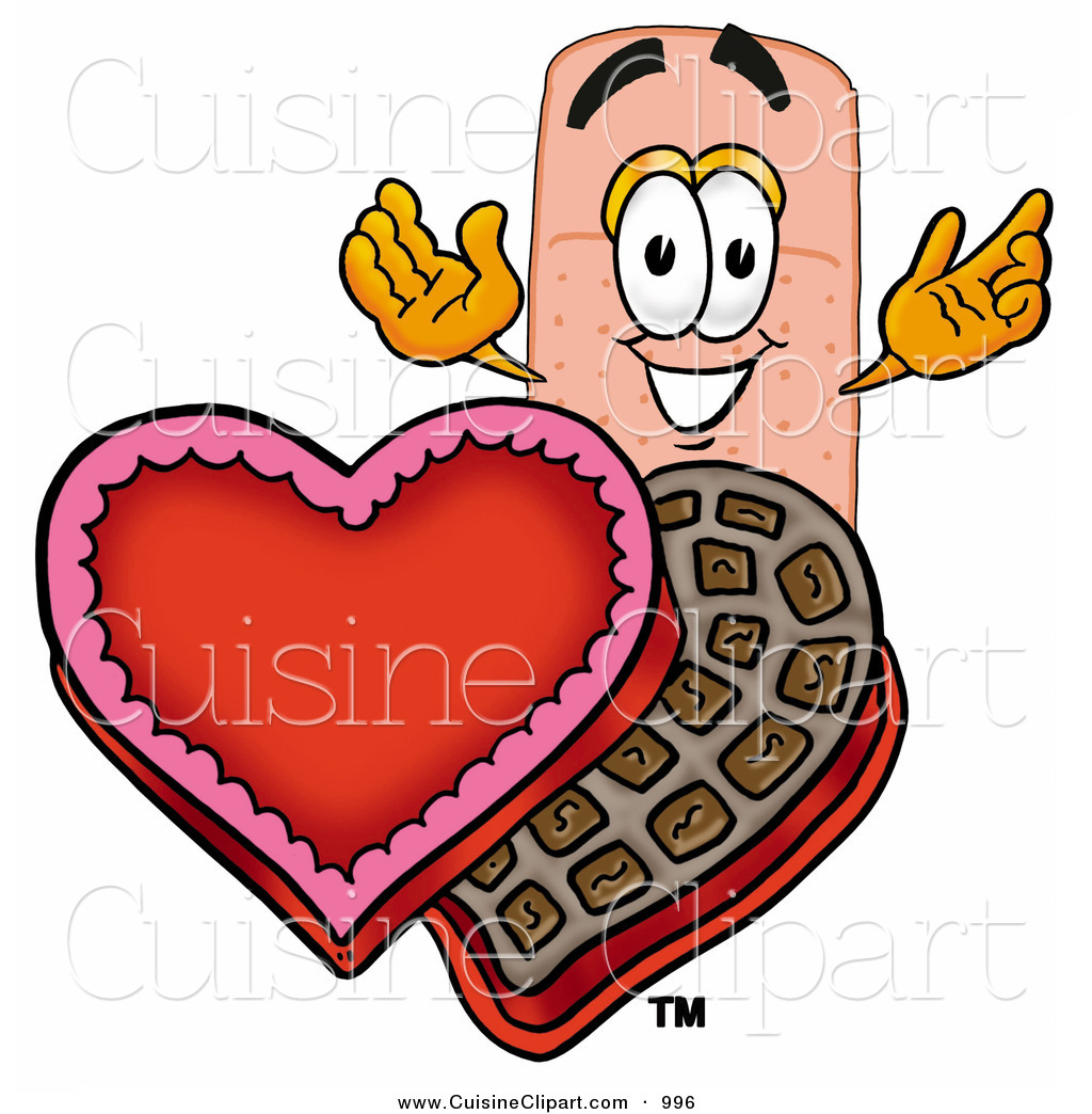 1024x1044 Cuisine Clipart Of An Adhesive Bandaid Bandage Mascot Cartoon