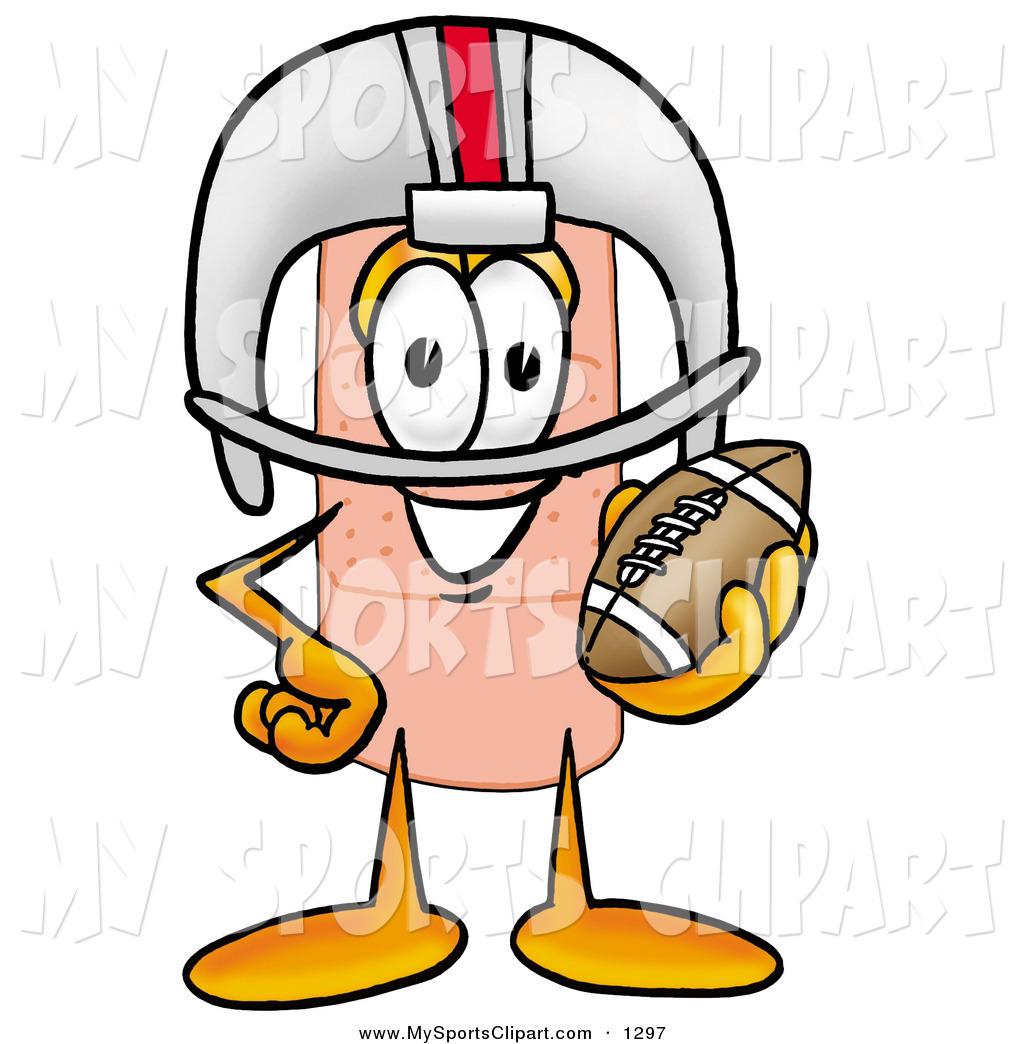 1024x1044 Sports Clip Art Of A Sporty Adhesive Bandaid Bandage Mascot