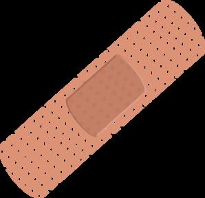 298x288 Bandaid Biz Clip Art