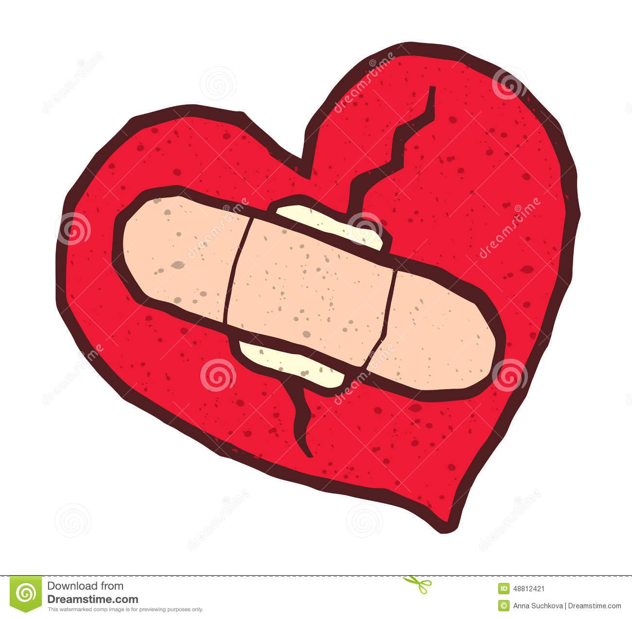 1300x1272 Broken Heart Clipart Bandaid Clipart