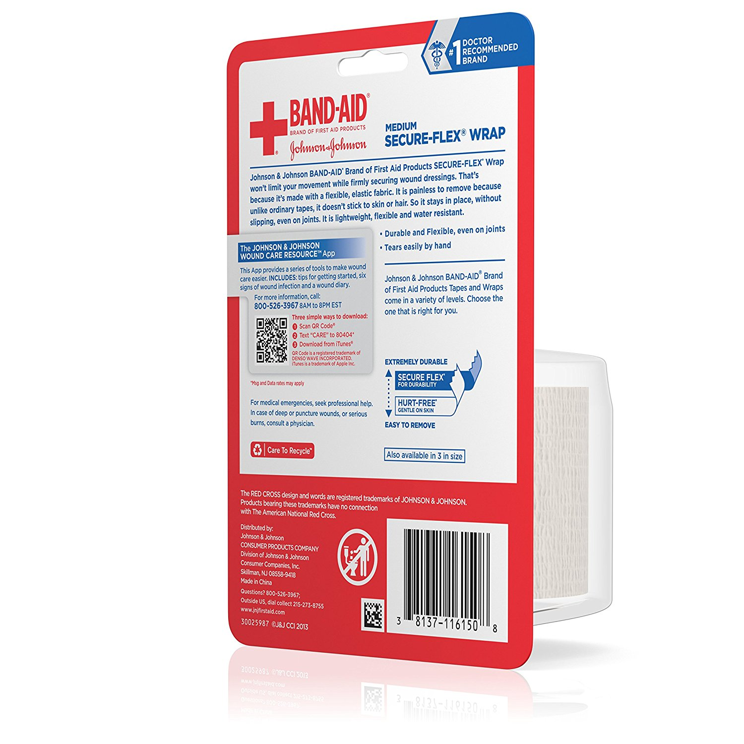 1500x1500 Band Aid Brand Of First Aid Products Secure Flex Minor