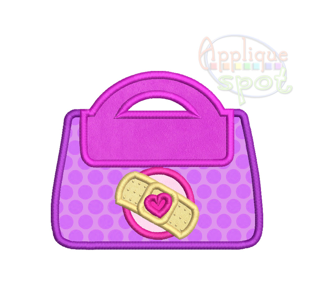 1006x990 Bag With Band Aid Applique Spot