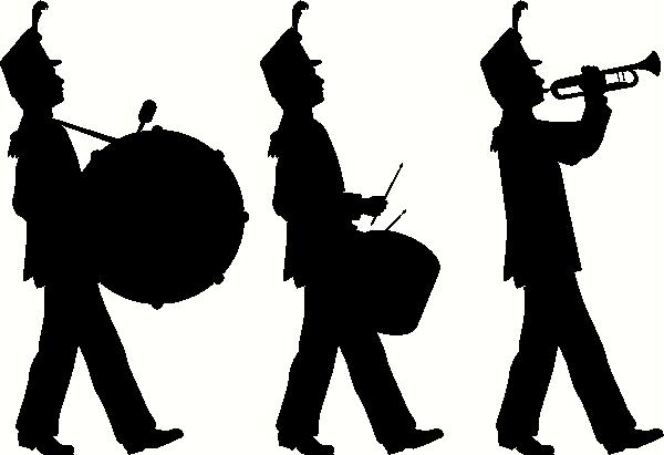 600x411 Free Marching Band Clipart