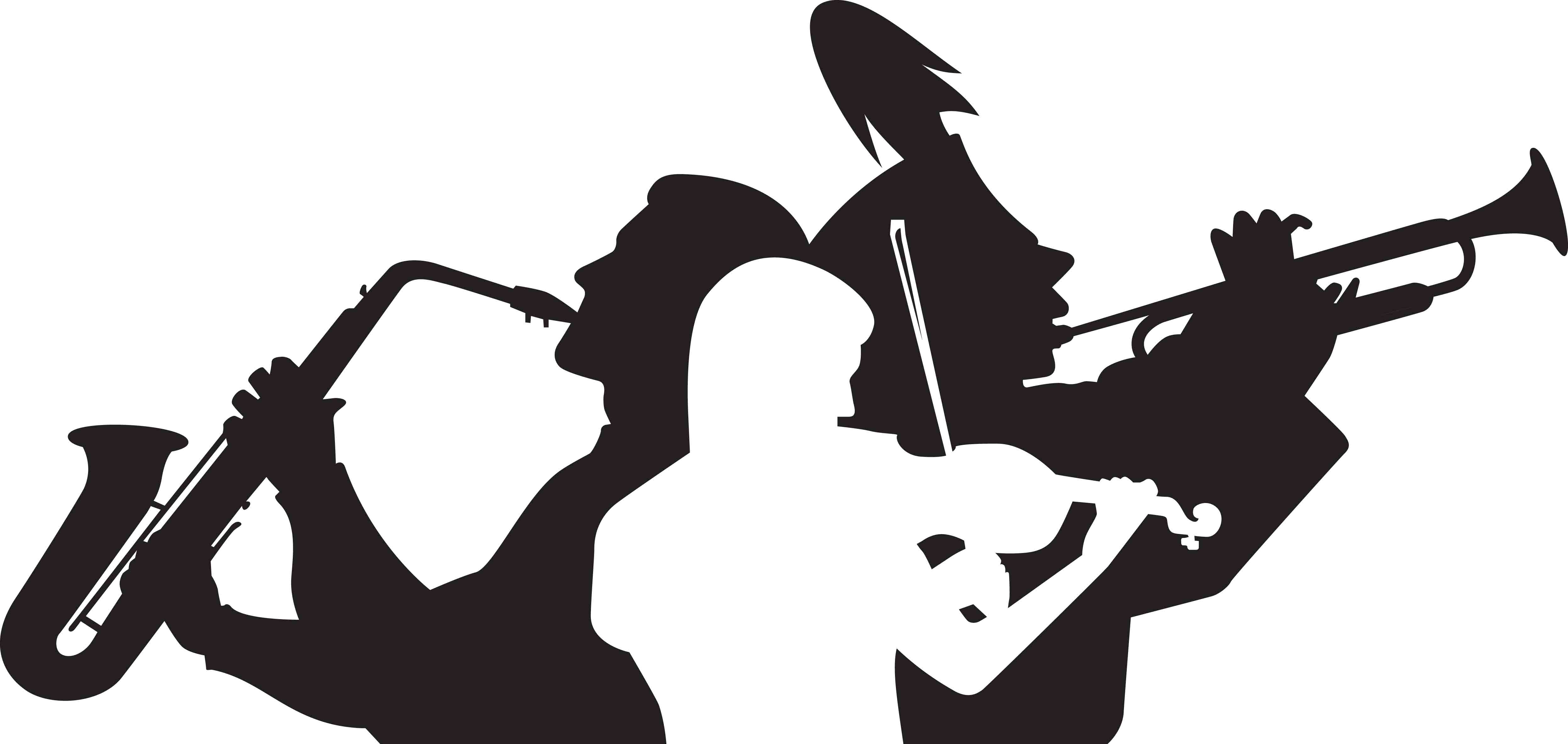 4986x2365 Image Of Band Clipart