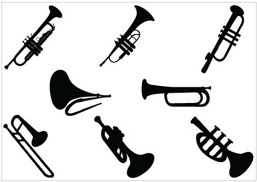 505x357 Clip Art Picture Of Trumpet Clipart