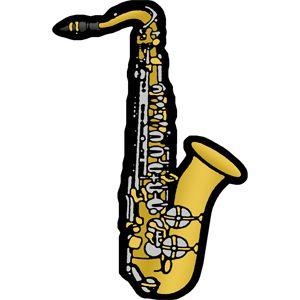 300x300 Free Saxophone Clip Art Image Beginning Band