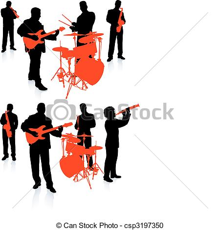 450x470 Musician Clipart Live Band