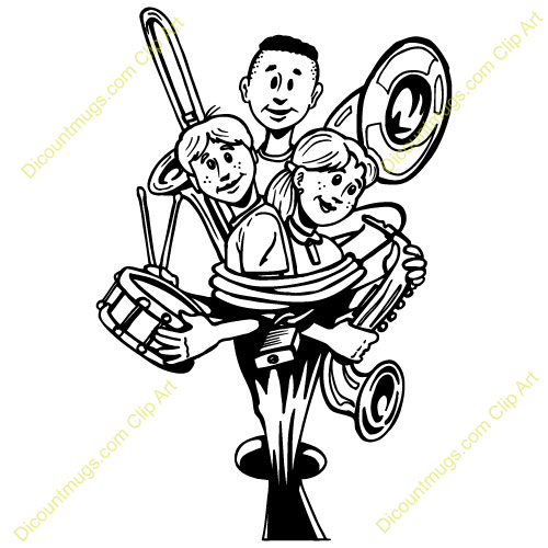 500x500 Brass Clipart Band Conductor