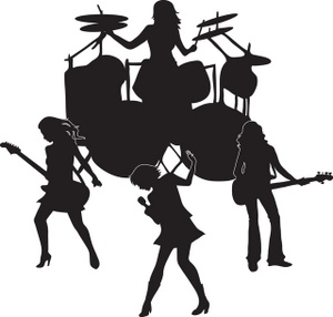 300x286 Rock Band Clipart Many Interesting Cliparts