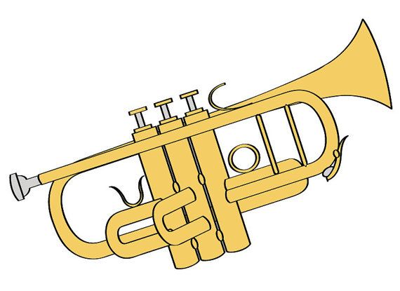 Band Instruments Clipart