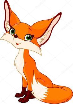 236x338 Foxes Clip Art