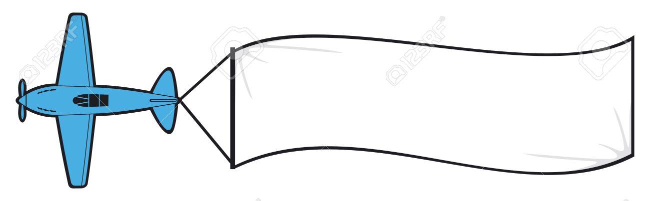 1300x403 Blank Banner Vector Clipart