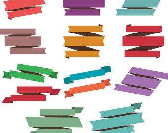 340x270 Ribbon Clip Art Etsy
