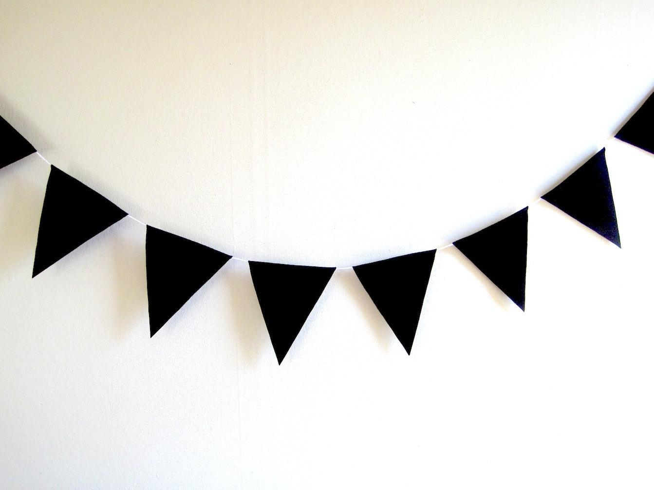 1343x1006 Flag Banner Clipart Pennant Clip Art Black And White