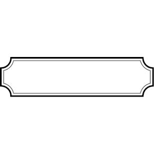 300x300 White Banner Clipart Scrapheap