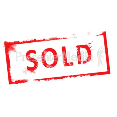 400x400 Sold Sign Clipart