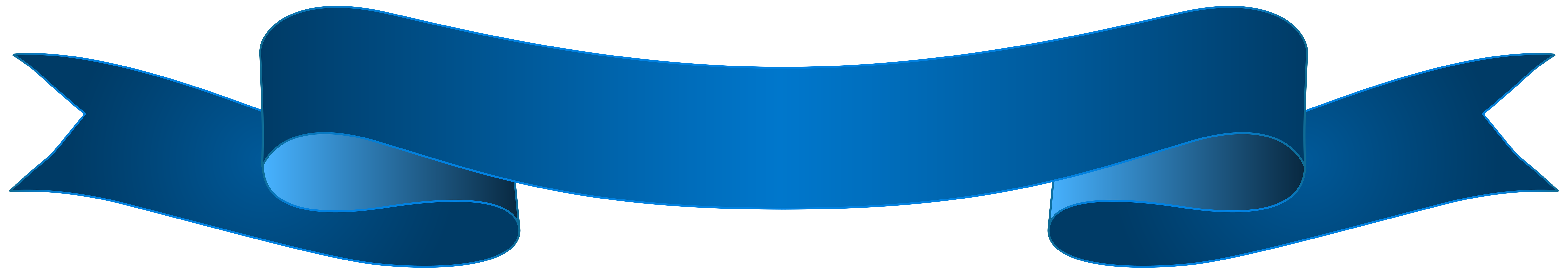Banner blue. Clipart png free download