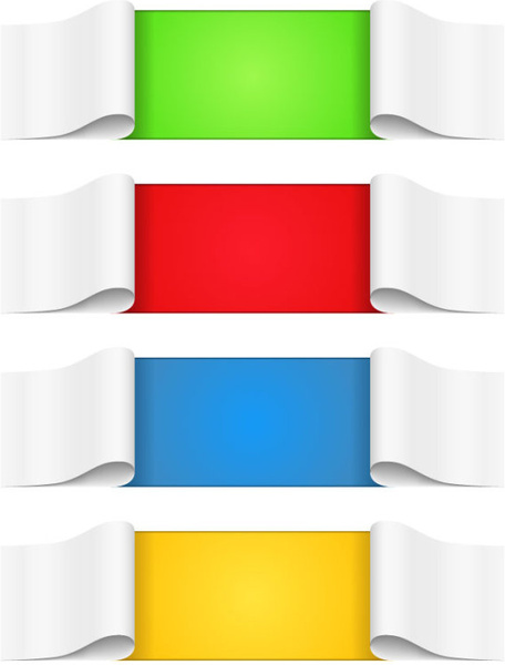 456x600 Decorative Scroll Banner Clip Art Free Free Vector Download