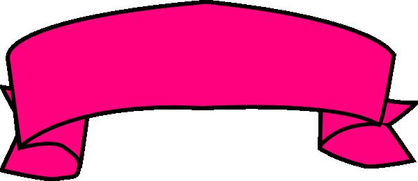 600x261 Pink Banner Clip Art