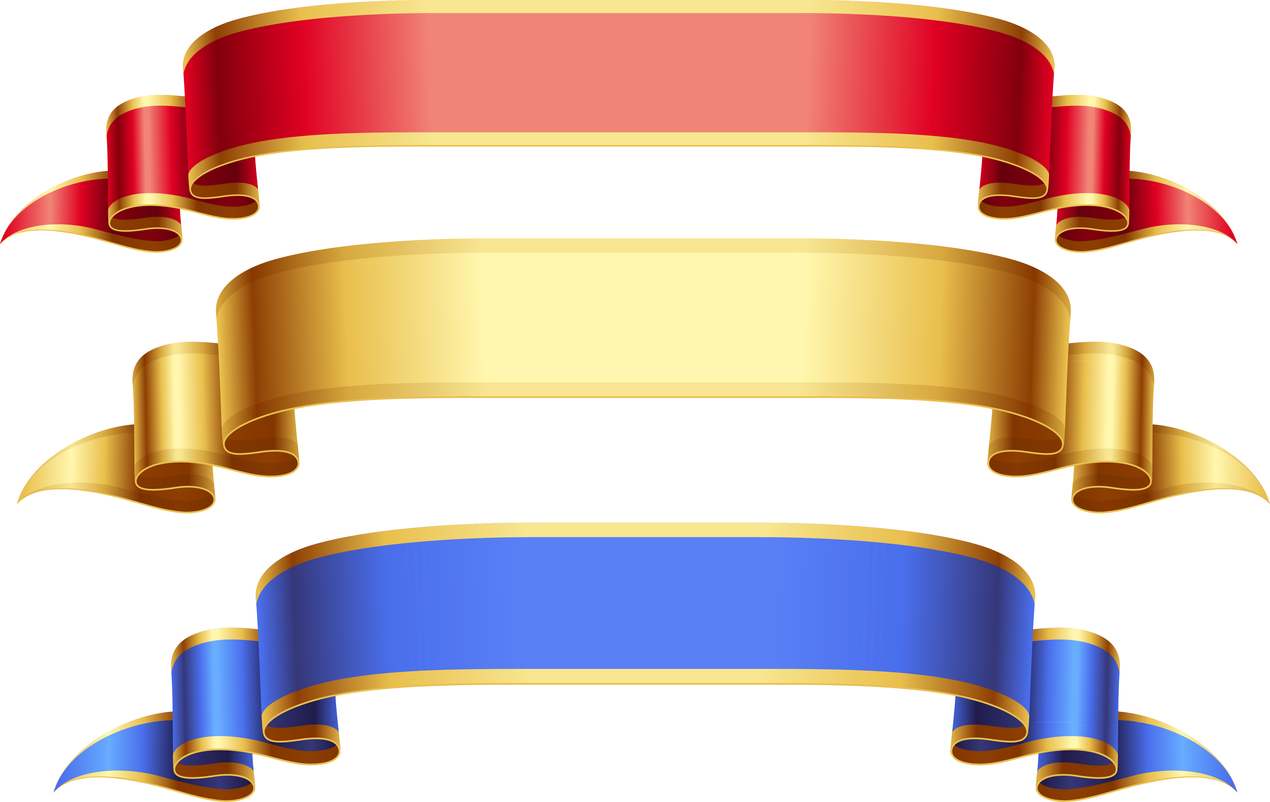 4291x2711 Ribbon Banner Png