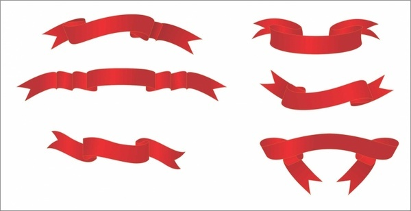 600x308 Ribbon Banner Clip Art Free Vector Download (214,865 Free Vector
