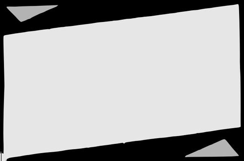 500x330 Vector Clip Art Of Grayscale Paper Banner Public Domain Vectors