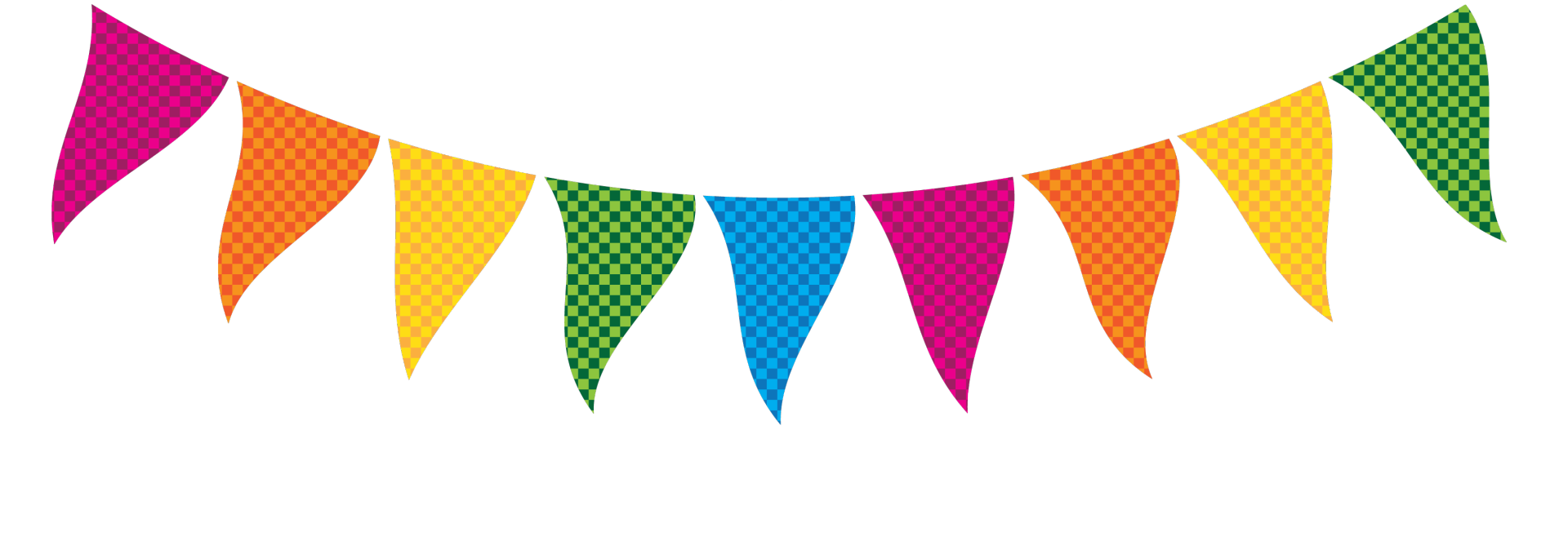 1920x685 Bunting Clipart Party Flag